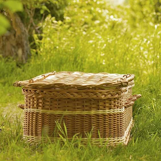 Natural Burial Eco-Friendly Casket